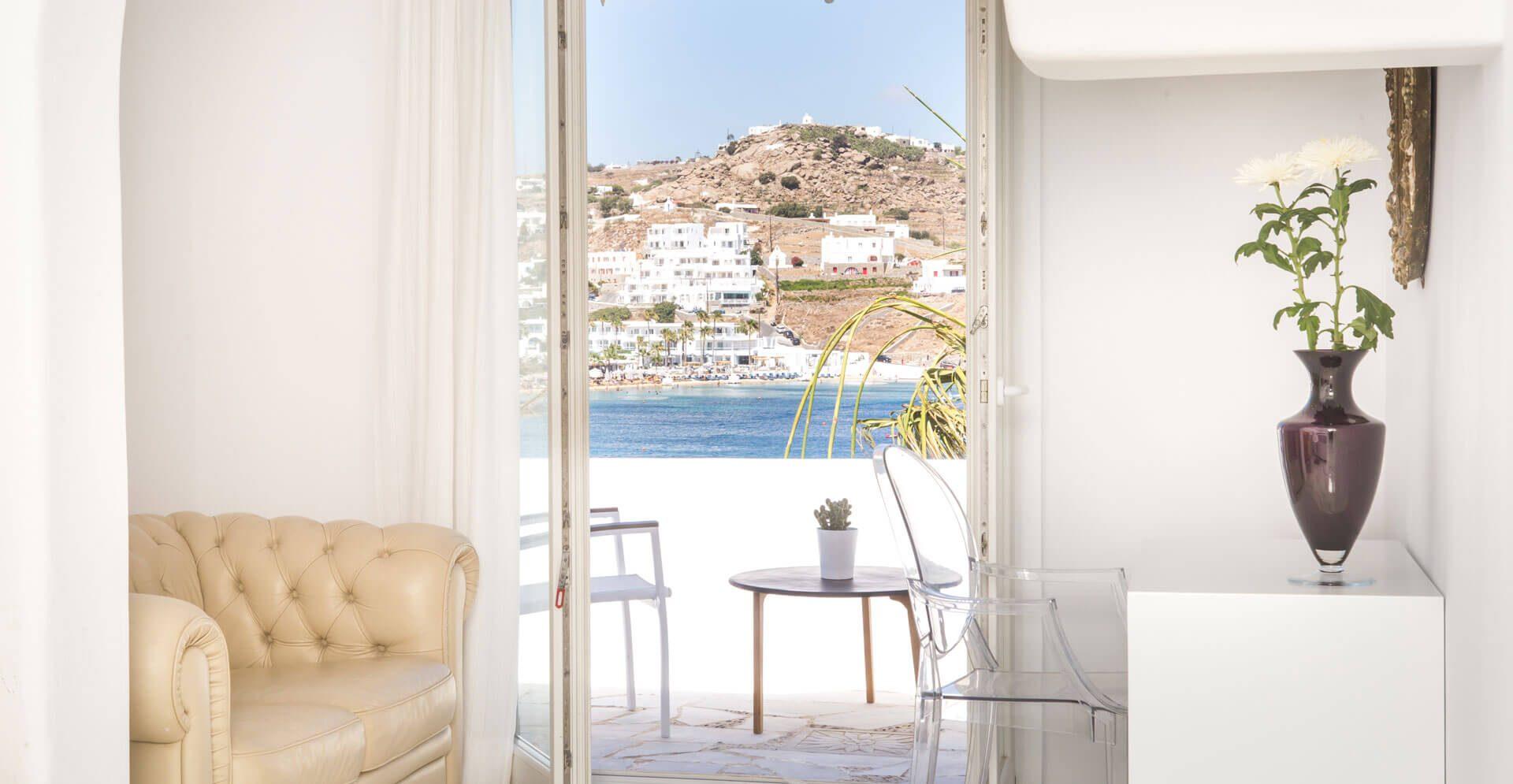 luxury 1 bedroom suite in mykonos