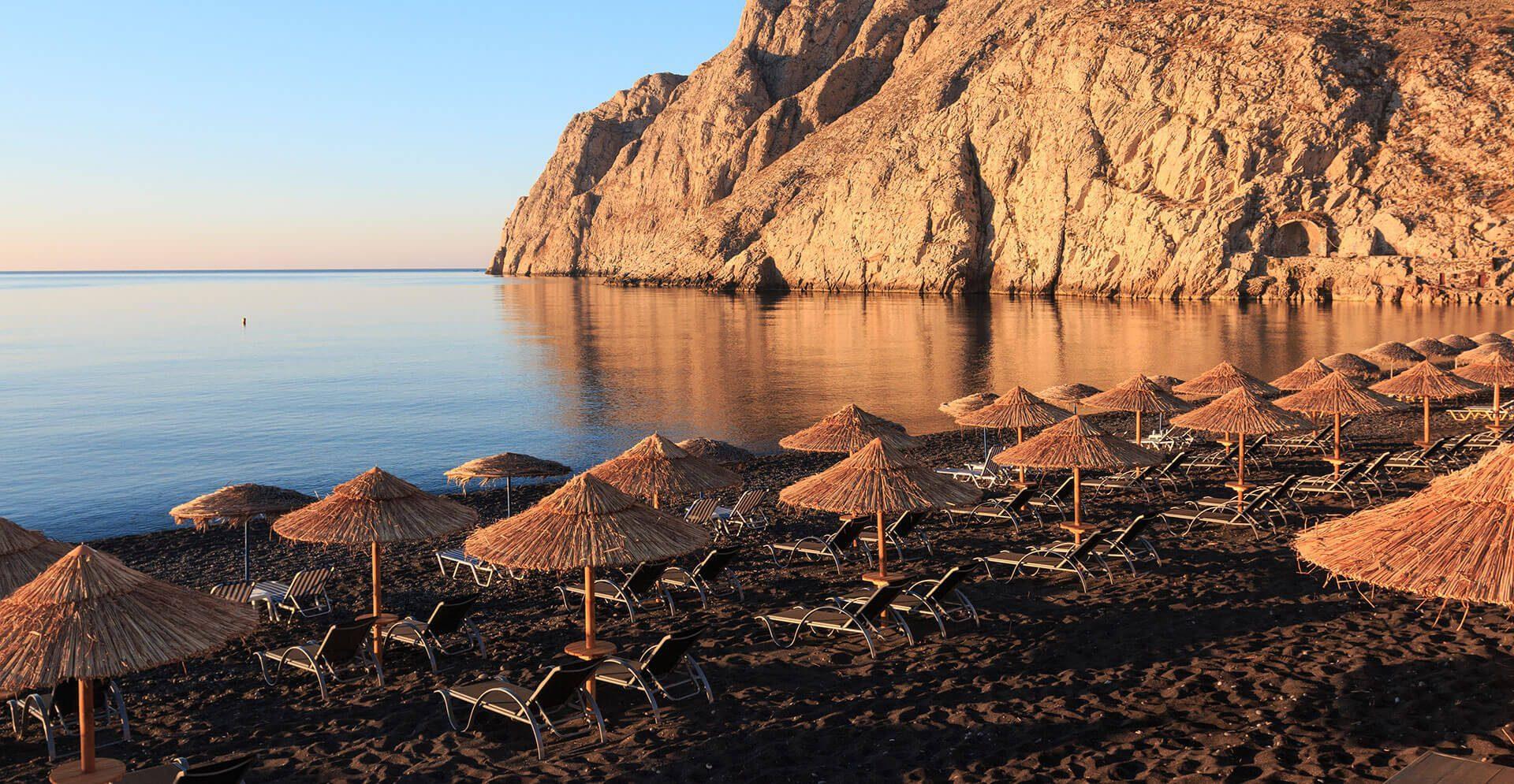 kamari-beach