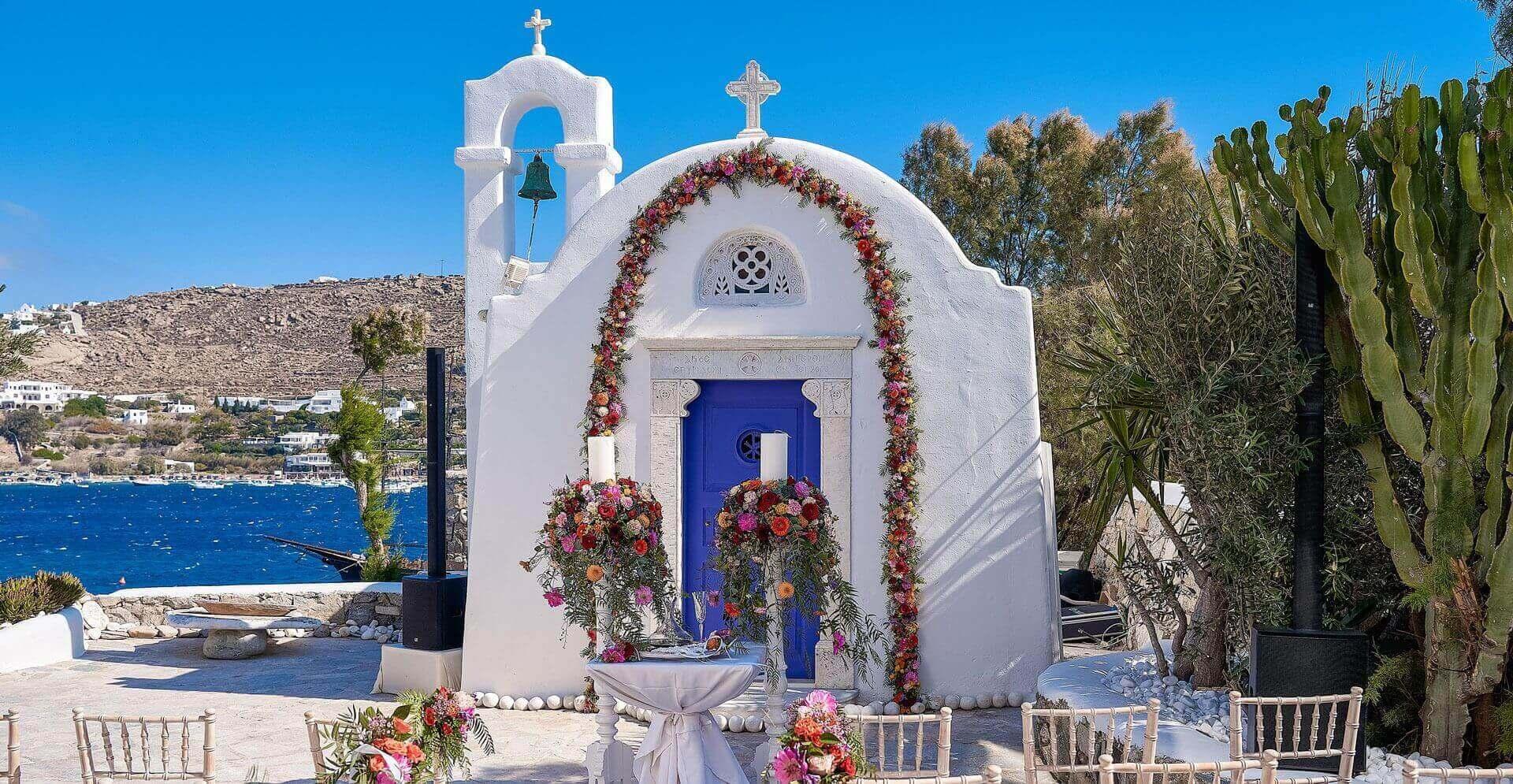 wedding venues in mykonos greece
